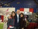 2009 Twins Fest with Camp Social Media guru, Anne Dickman (r) with Bert and Gayle Blyleven!